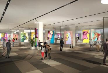 نمایشگاه های هنری در مرکز تجاری تفریحی سیتادیوم رشت
