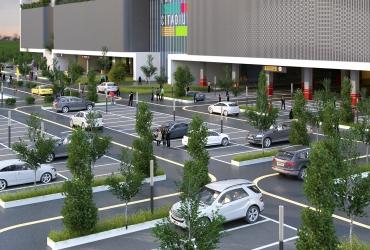 پارکینگ مقابل مرکز تجاری تفریحی سیتادیوم رشت