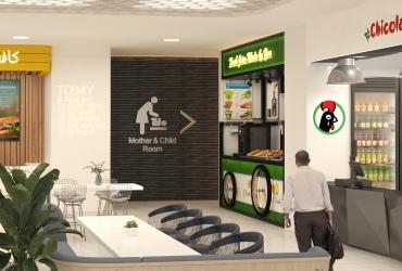 Food Court in Rasht Citadium