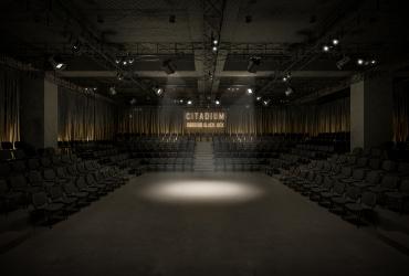 Black Box  Theater Concept in Rasht Citadium