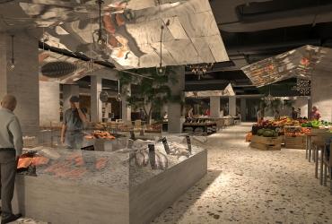 Ethnic hall new concept in Rasht Citadium