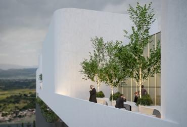 Green Terraces in Rasht Citadium