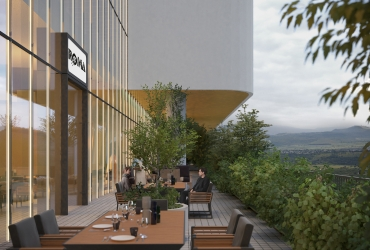 Restaurant Terrace - Rasht Citadium
