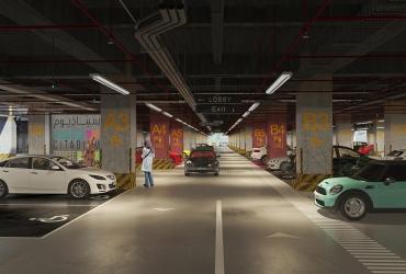 Parking in Rasht Citadium