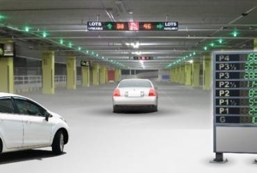 تعداد فضاهای موجود در هر طبقه پارکینگ هوشمند