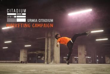 کمپین سیتادیوم ارومیه- اجرای پارکورکاران
