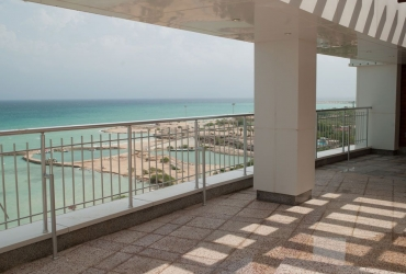 Terrace with Persian Gulf View