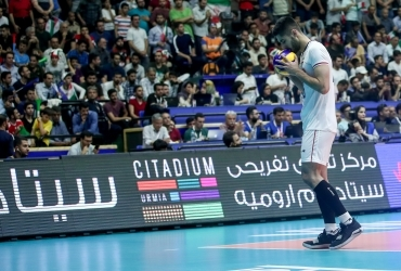 The one ranian sponsorship of Iran national volleyball team league