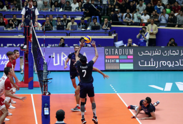 citadium bran unveiling in Iran national volleyball team competitions