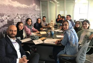 مشاور و مجری مهندسی بازاریابی و فروش دوان ایرانیان -جلسه ایده پردازی