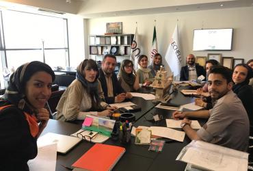 مشاور و مجری مهندسی بازاریابی و فروش دوان ایرانیان -جلسه د وان ایرانیان