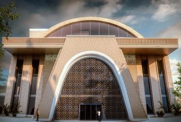 نمای مراکز تجاری اداری فیروزه اصفهان