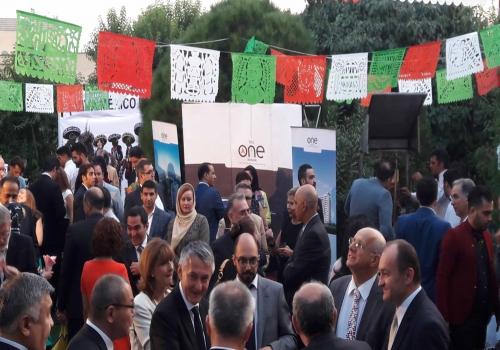 حضورشرکت دوان  ایرانیان در بیست و پنجمین سالگرد حضور سفارت مکزیک در ایران