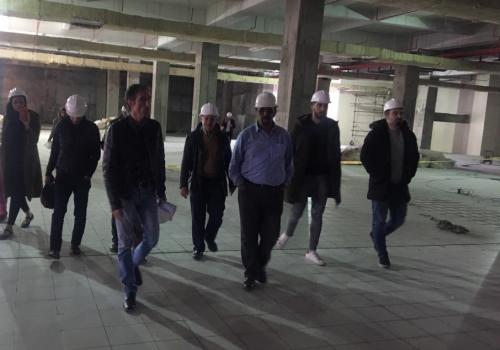 بازدید برندهای معتبر از پروژه سیتادیوم ارومیه