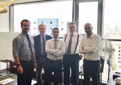شرکت دوان ایرانیان میزبان شرکت ایتالیایی Iritali  در تهران