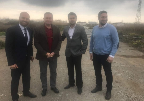 Confirmation of senior executives of Carrefour (Hyper Star) on Citadium Rasht project