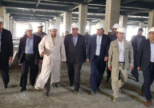 ابراز خرسندی مسئولین شهر ارومیه از پیشرفت فیزیکی پروژه سیتادیوم ارومیه