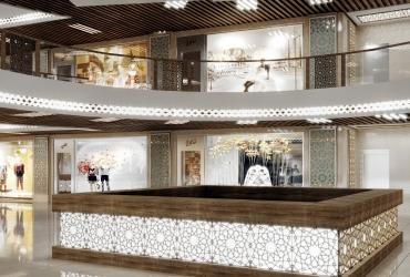 طبقه منفی یک مرکز نجاری فیروزه اصفهان