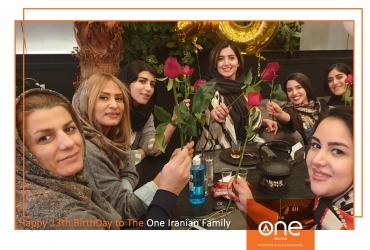 جمع شاد و صمیمی همکاران دوان در دورهمی تولد دوان ایرانیان
