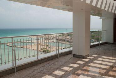 دید از واحدهای برج مسکونی اطلس کیش به خلیج فارس
